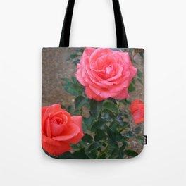 Floral Print 103 Tote Bag