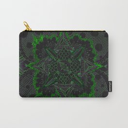 Divine Intention 5: Solar Green Carry-All Pouch