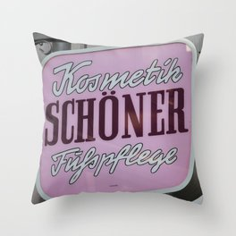 Schoener Throw Pillow