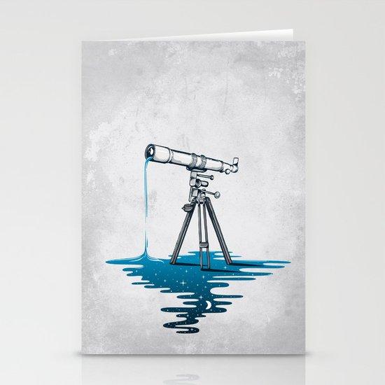 Liquid Universe Stationery Cards