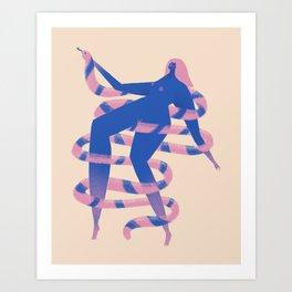 Possessed Art Print