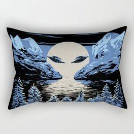 Dark Moon Rectangular Pillow