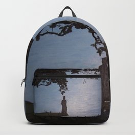 Sherlock Holmes ( Silent Thoughts at the Lake) Backpack