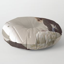 Untitled, Film Still #1 Floor Pillow