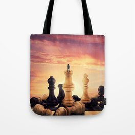 the rise of a chess player Tote Bag