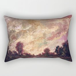 Rosy Clouds Rectangular Pillow