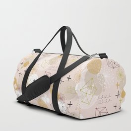 Abstract Planet Duffle Bag