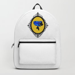 Cute As A Button Framed Backpack