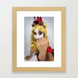 Don't Get Her Mad Framed Art Print