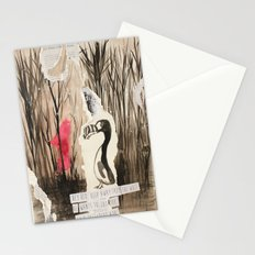 Little Red and Great Auk Stationery Cards