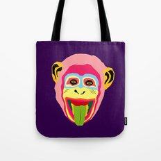 crazy monkey Tote Bag