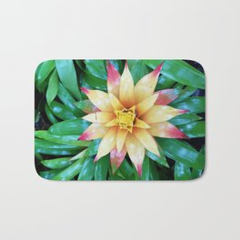 Hawaiian Flower Bath Mat