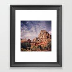 Capitol Reef Naitonal Park Utah Framed Art Print