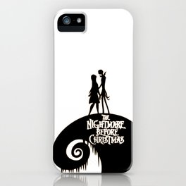 Jack and Sally - The Nightmare Before Christmas iPhone Case