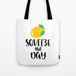 Squeeze Orange The Day Tote Bag