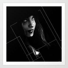 Cyborg Beauty Art Print