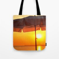 twilight Tote Bags featuring TWILIGHT by Ylak