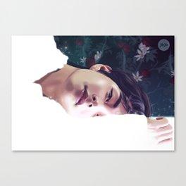 V - Singularity Canvas Print