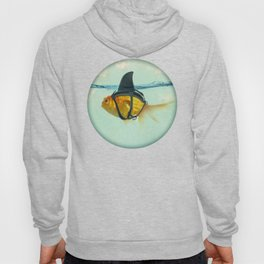 Brilliant DISGUISE - Goldfish with a Shark Fin Hoodie