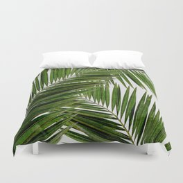 Palm Leaf III Duvet Cover