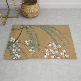 Kamisaka Sekka - Blossoms from Momoyogusa Rug