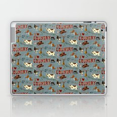 I Love Country Laptop & iPad Skin