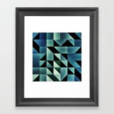 :: geometric maze VII :: Framed Art Print