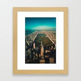 Central Park, NY Framed Art Print