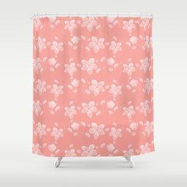 Sakura Pattern Shower Curtain