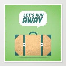 Runaway. Canvas Print