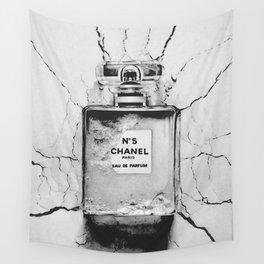Broken perfume bottle Wall Tapestry