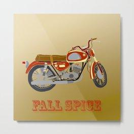 Vintage Motorcycle Gems II Metal Print