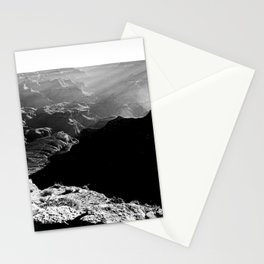 Sun Rays at the Grand Canyon  Stationery Cards