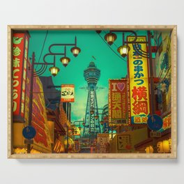 Osaka Nights - Shinsekai, New World / Liam Wong Serving Tray