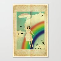 dorothy Canvas Prints featuring Dorothy by Robin Curtiss