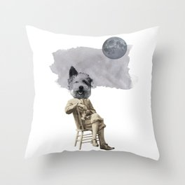 hey diddle diddle 4 Throw Pillow