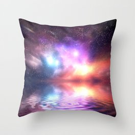 Abstract Universe Throw Pillow
