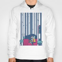 50s Hoodies featuring Diner by Ale Giorgini