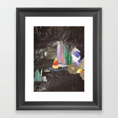 Cave Garden I Framed Art Print