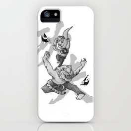 KungFu Zodiac - Tiger and Rabbit iPhone Case