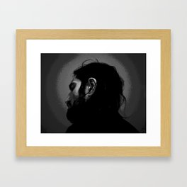 Frusciante Self Framed Art Print