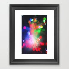 Bokeh Sample Framed Art Print