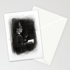 A Contemplative Pause Stationery Cards