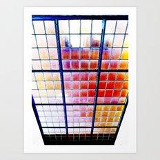 Heaven's Elevator Art Print