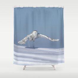 Rocket woman Shower Curtain