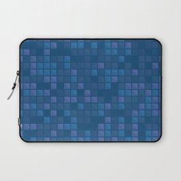november blue geometric pattern Laptop Sleeve