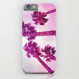 Neon Palms iPhone Case