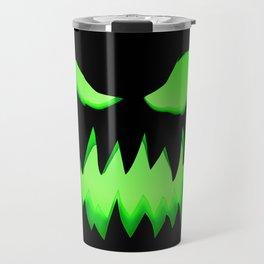 Evil Green ghost Travel Mug