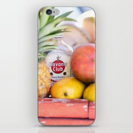 34. Havana Club and Fruits, Cuba iPhone Skin