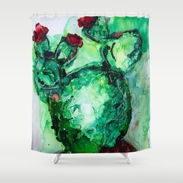 C A C T U S Shower Curtain